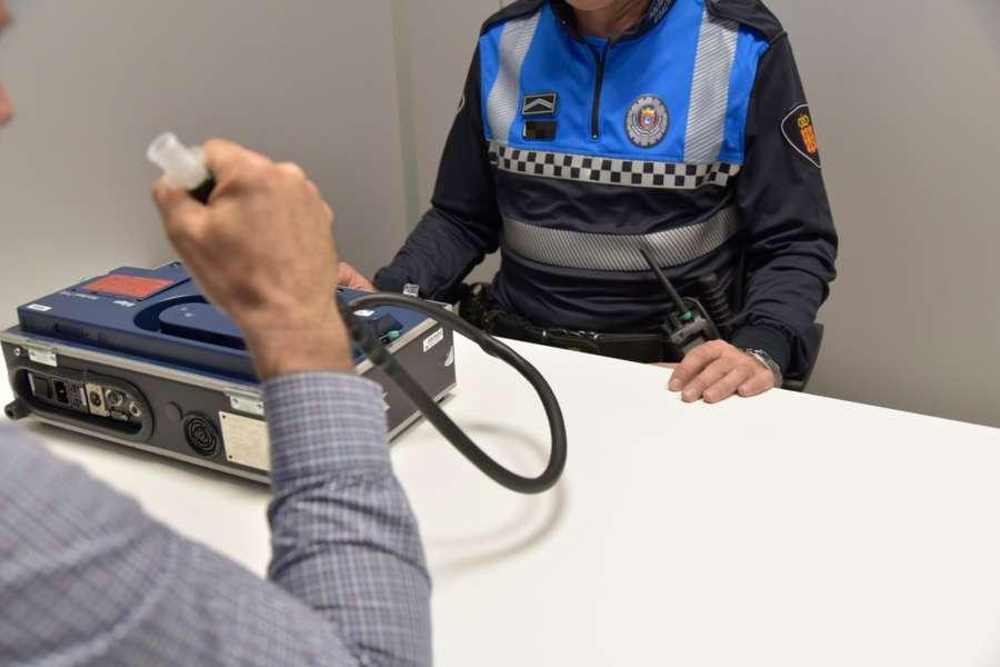 Detenidas doce personas la semana pasada por etilometrías positivas, negarse a realizar las pruebas, conducir sin puntos o con el carné retirado judicialmente