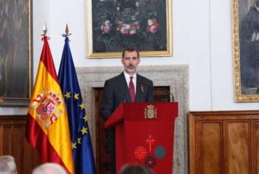 Felipe VI pide a los historiadores que no se dejen llevar por sus opiniones