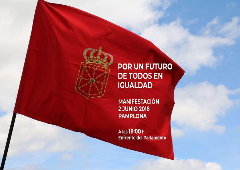 """2 de junio: UPN, PSN y PP defienden """"derecho"""" a manifestarse contra """"imposición"""" euskera y Geroa Bai lo critica"""