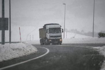 El Gobierno de Navarra recomienda precaución ante la presencia de hielo y nieve