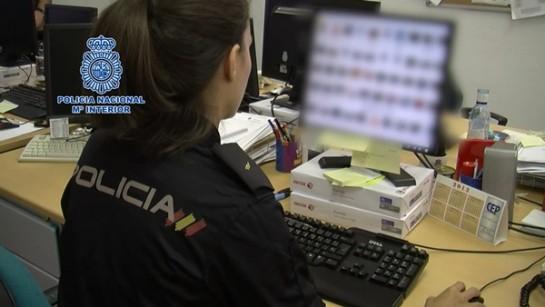 La Policía Nacional desmantela una red de intercambio de pornografía infantil a través de servicios de almacenamiento en la nube