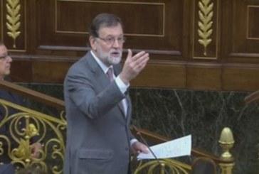 Rajoy no dimitirá y acusa a Sánchez de intentar «chantajear» a todos