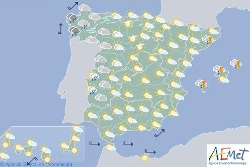 Hoy en España, tormentas en Cataluña y Baleares