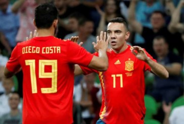 Iago Aspas sustituye a Diego Costa por problemas familiares