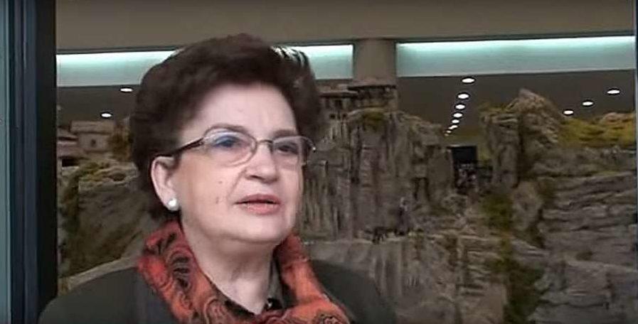 Una belenista navarra, Medalla de Oro de la Federación Española