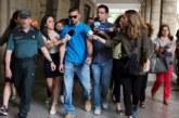 La Manada comparece en los Juzgados en Sevilla rodeada de gran expectación
