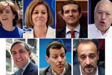 Los candidatos del PP suman apoyos y apelan a participación de los militantes que no han pagado la cuota