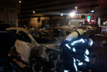 Prisión para un joven acusado de incendiar vehículos aparcados en Pamplona