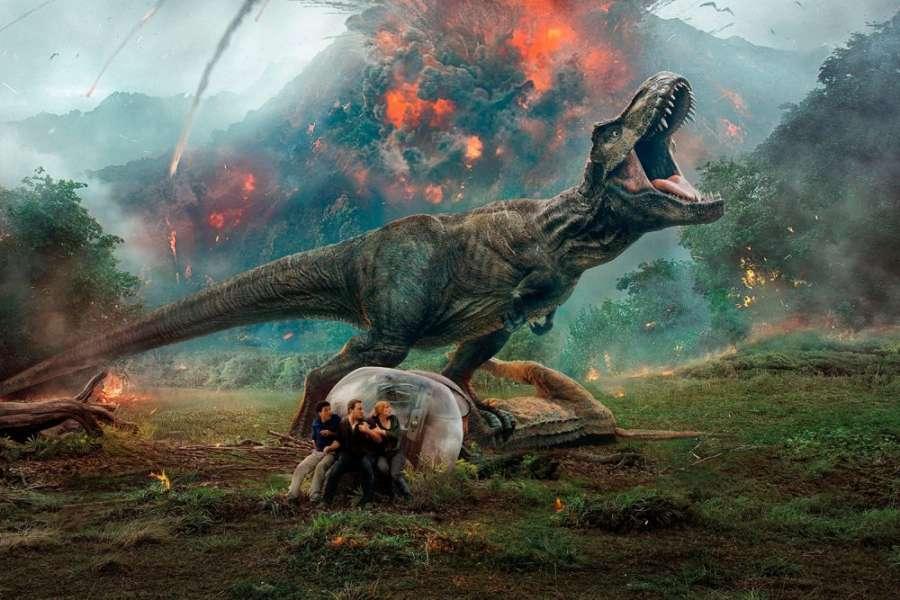 """El """"Jurassic World"""" de Bayona, nº1 mundial y mejor estreno del año en España"""