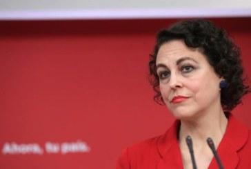 Valerio acusa a Casado de intentar escorar a España hacia la extrema derecha