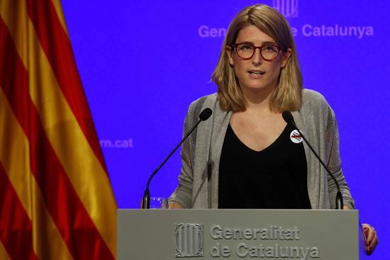 La Generalidad de Cataluña avanza una respuesta «combativa» a la Junta Electoral sobre lazos amarillos