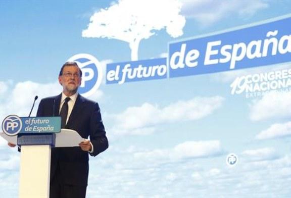 """Rajoy: """"Los españoles volverán a buscarnos"""" para lograr certidumbre"""