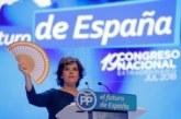 Santamaría promete unidad y subraya que la única lealtad que exige es al PP
