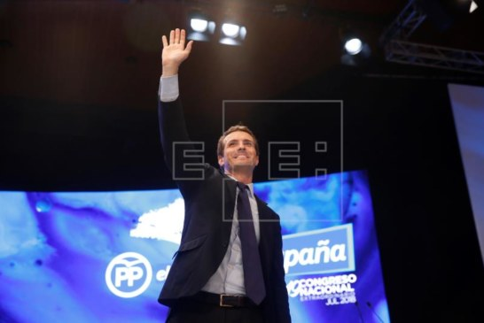 Pablo Casado, elegido nuevo presidente del PP