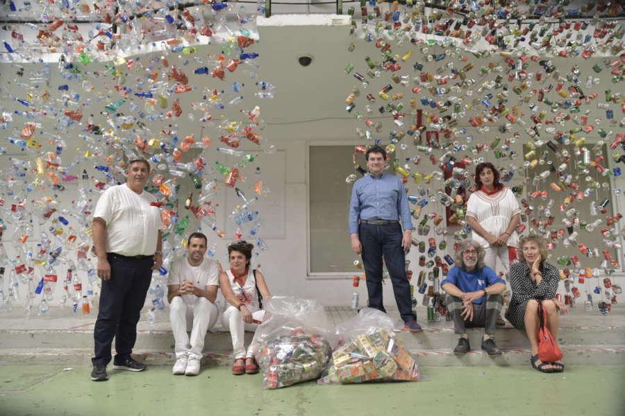 Proyecto piloto de recogida de residuos en San Fermín