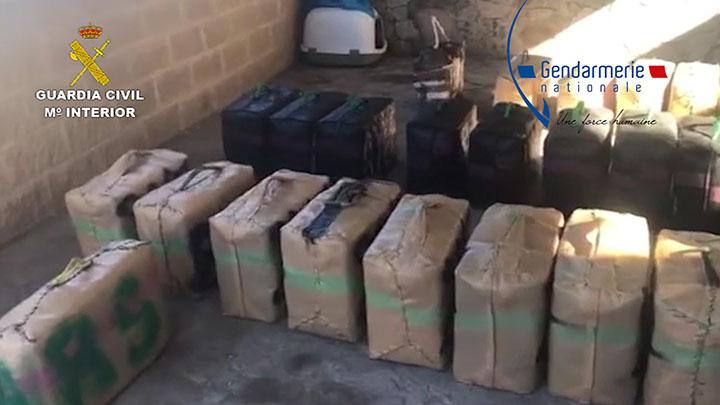 Desarticulada una organización que robaba droga a otros narcotraficantes