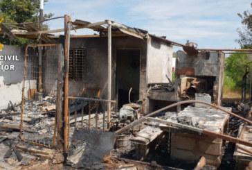 La Guardia Civil localiza al responsable de numerosos incendios en Castejón y Alfaro
