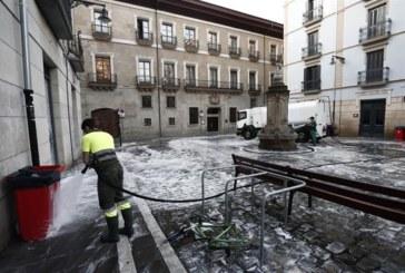 Disminuyen un 7,36 % los residuos recogidos en sanfermines 2018