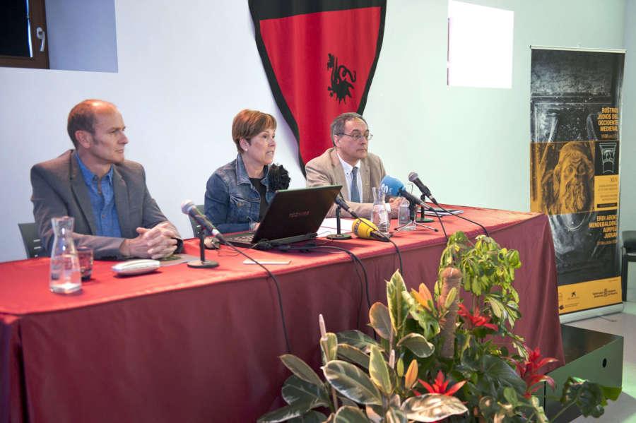 Barkos destaca la dilatada trayectoria de la Semana Internacional de Estudios Medievales de Estella