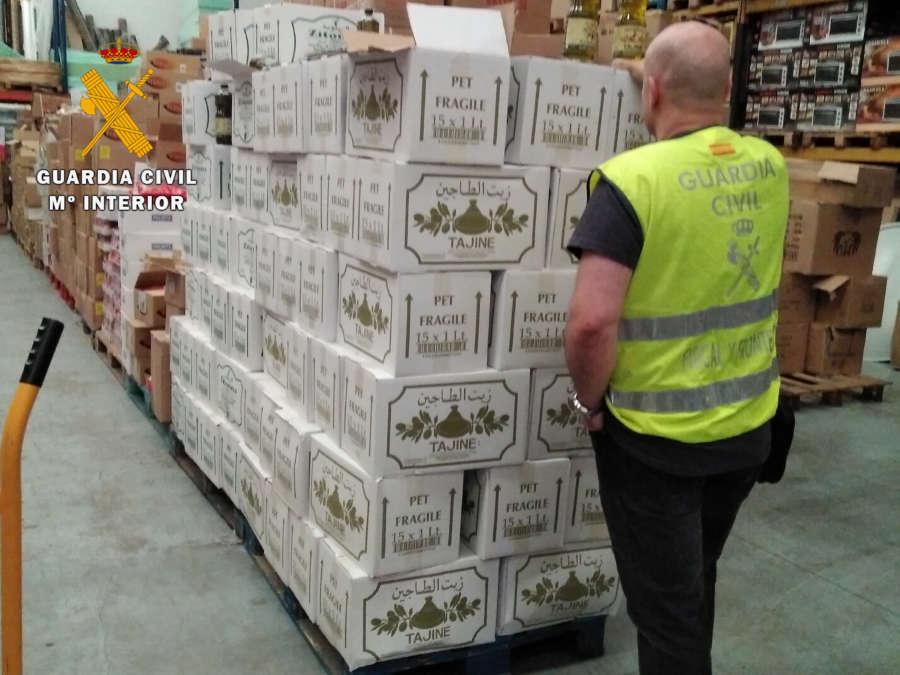 Guardia Civil incauta en Navarra 5.000 kilos de alimentos en mal estado para su venta en San Fermín