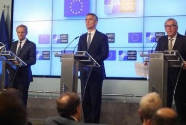 La OTAN y la UE sellan su cooperación bajo la presión de Trump sobre el gasto