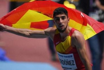 Saúl Ordóñez bate el récord de España de 800 metros