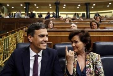 El PSOE supera el 30 por ciento y amplia su ventaja sobre el PP y Cs