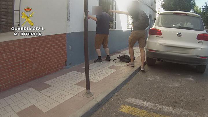 La Guardia Civil detiene a un pederasta que figuraba entre los fugitivos más buscados de Europa