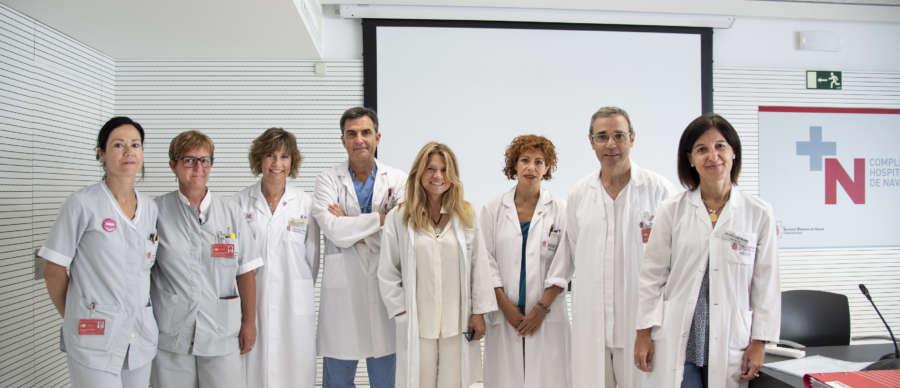 El Complejo Hospitalario de Navarra crea una nueva unidad para la atención multidisciplinar a mujeres con cáncer ginecológico