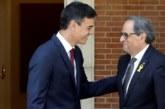 """Torra """"no aceptará"""" un referéndum de autogobierno y pide concreción a Sánchez"""