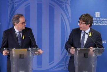 Puigdemont dice a Sánchez que tiene que «hacer sus deberes» y pasar a los hechos