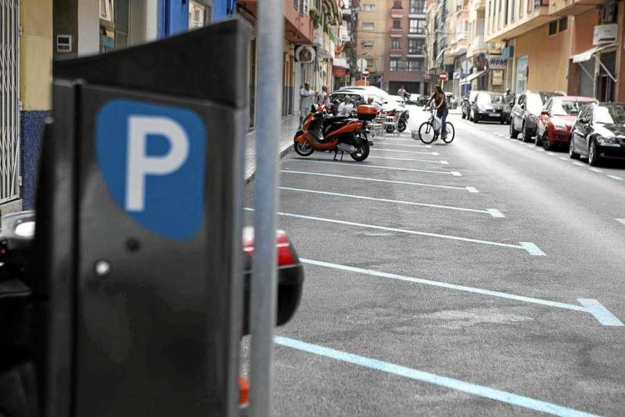 Nuevas plazas de aparcamiento de rotación en Pamplona