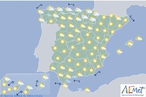 Hoy en España comienza la ola de calor, con altas temperaturas