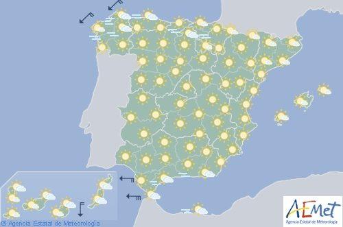 Hoy en España ascienden las temperaturas y alcanzan la alerta roja en Cáceres y Badajoz