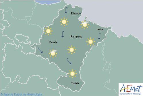 Se mantiene la alerta amarilla para Navarra por altas temperaturas