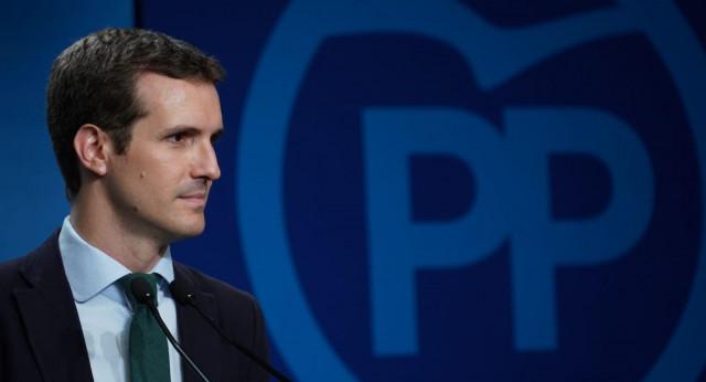 Casado considera la exhumación de Franco una enmienda a la historia del PSOE