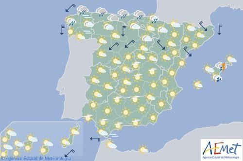 Hoy en España, se esperan tormentas fuertes en Cataluña y Baleares