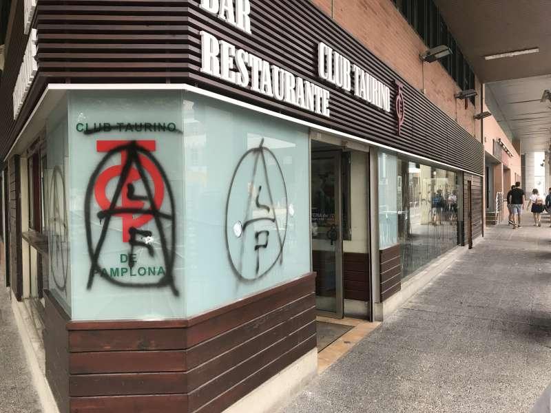 """El Club Taurino """"redobla"""" su """"compromiso"""" por la tauromaquia tras el ataque a su sede"""