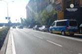 La Policía Municipal atiende 16 accidentes en Pamplona el fin de semana