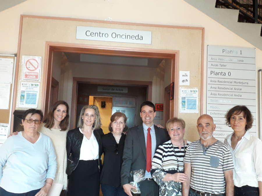 La Caixa renueva colaboración con Centro de Atención a Discapacidad Oncineda
