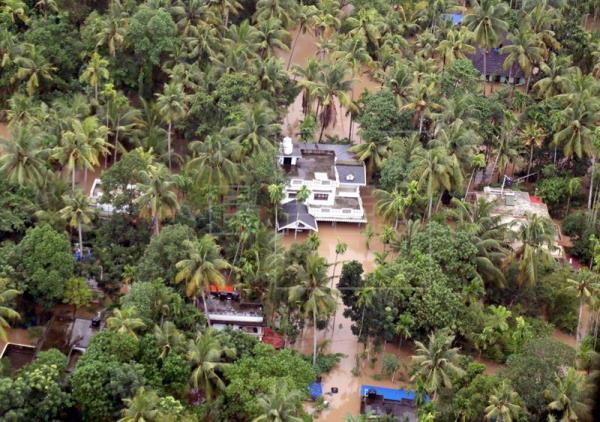 Casi 200 muertos en las peores inundaciones en un siglo en el sur de la India