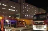 Una detenida por el incendio en urgencias del Hospital La Candelaria (Tenerife)