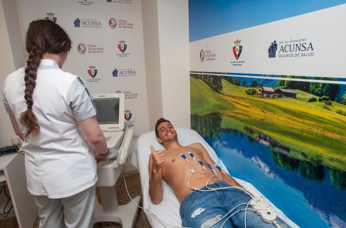 Juan Villar se suma a los entrenamientos de Osasuna pero de forma individual