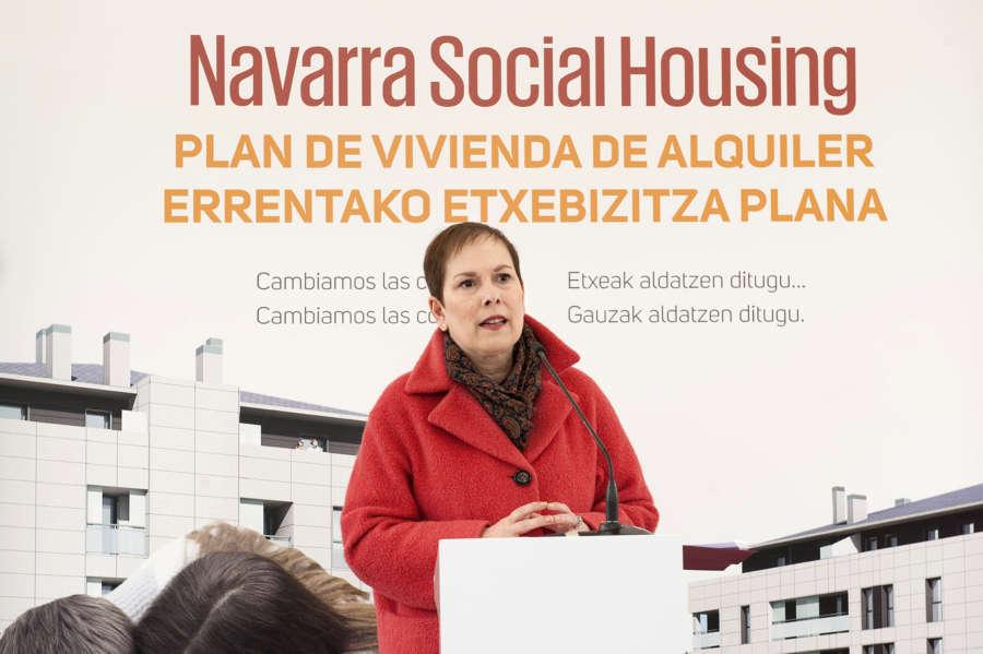 """UPN tilda de """"chapuza"""" el proceso para licitar viviendas del programa Navarra Social Housing"""