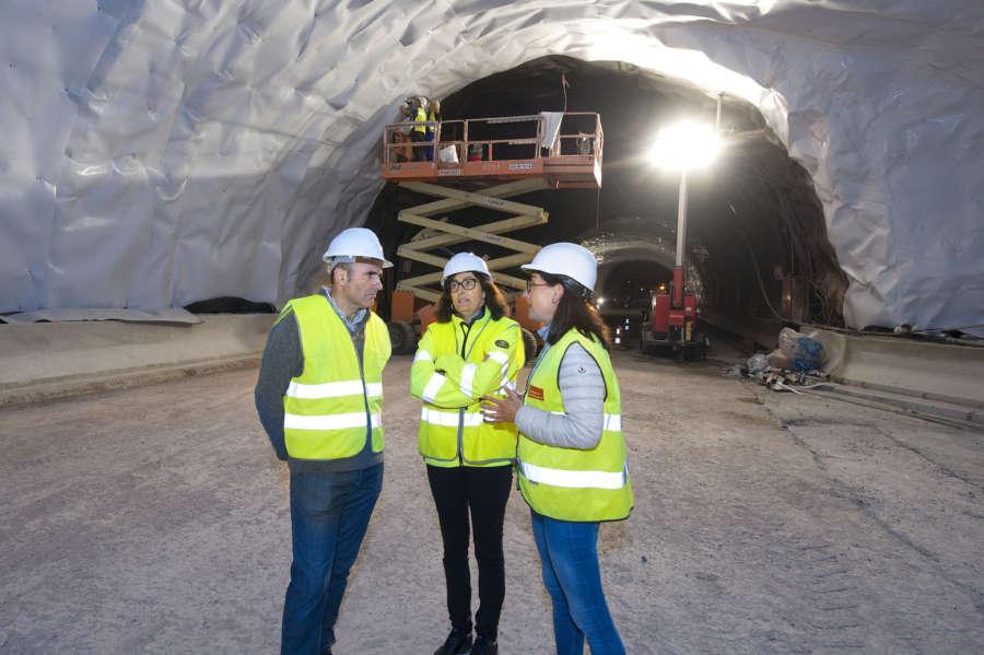 El Gobierno de Navarra prevé la reapertura de los túneles de Velate y Almándoz en otoño