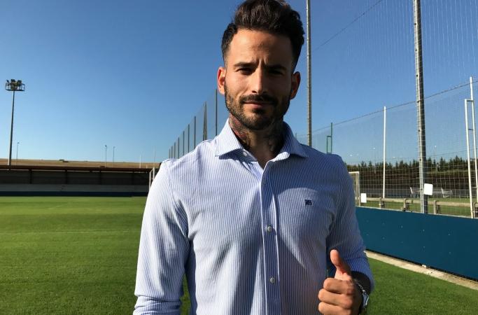 Rubén García: «Participar y ser feliz es vida para el futbolista»