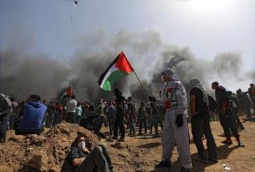Dos palestinos muertos en protestas en frontera entre Gaza e Israel