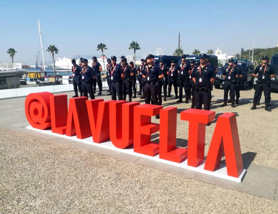 Policía Nacional dará seguridad y protección en cada etapa de La Vuelta a España