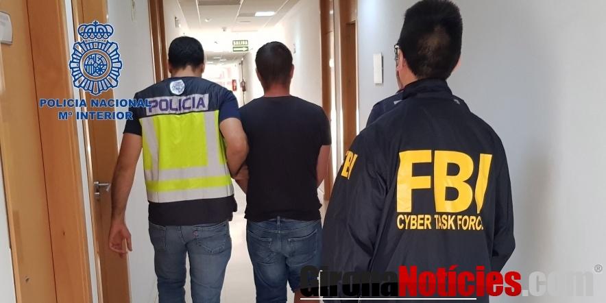 La Policía Nacional detiene a un experto informático responsable de sofisticados ciberataques para sustraer tarjetas bancarias