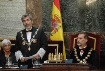 El Rey abre el año judicial, a pocas semanas de la sentencia del proceso separatista